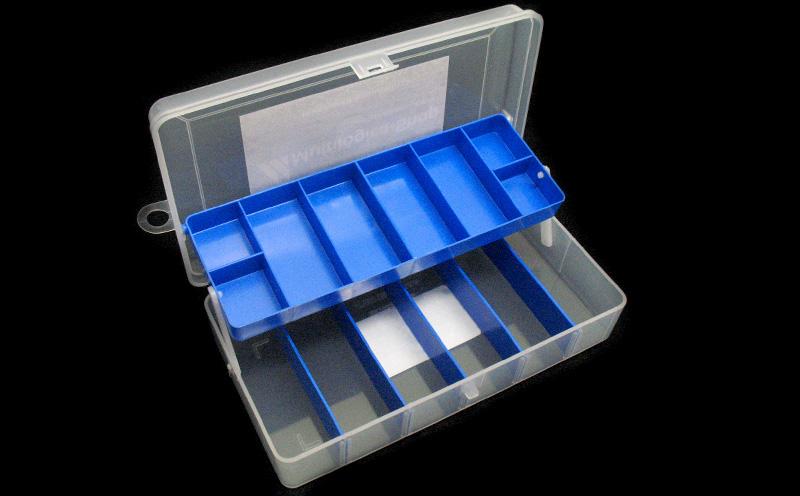 Kit Iniciante com RedBoard - Detalhe caixa para componentes