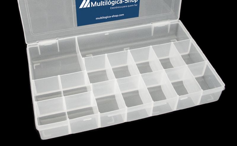 Caixa para componentes
