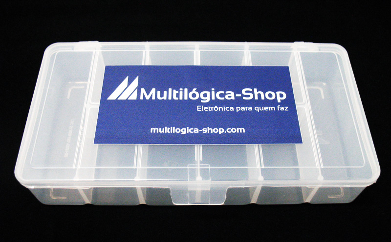 Caixa para componentes pequena