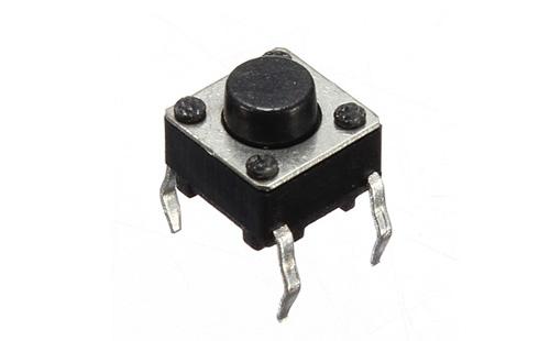 Chave momentânea (botão) - 10 unidades