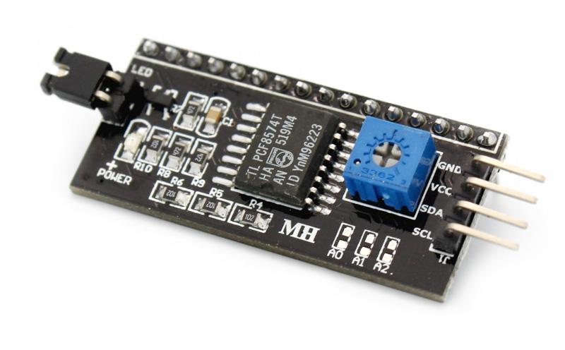 Controlador de LCD I2C