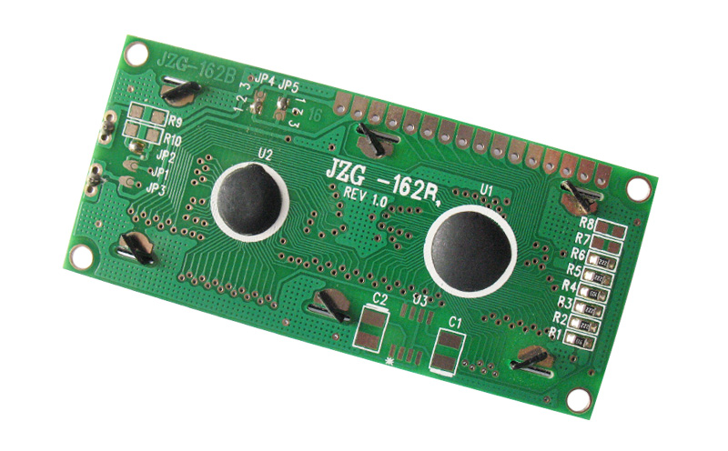 Display LCD 2x16 - preto sobre verde
