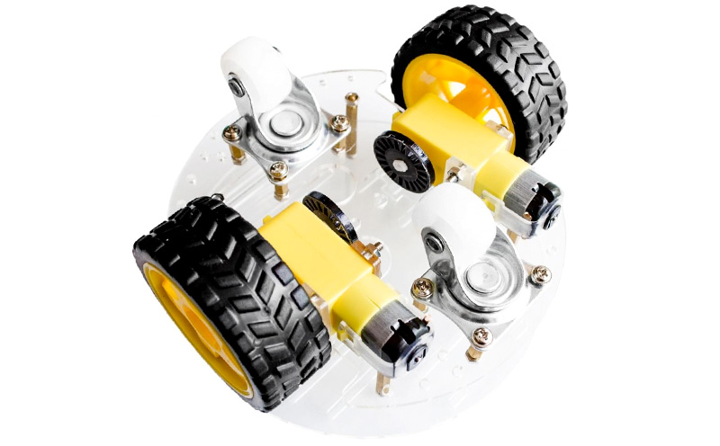 Kit Chassi robótico 2WD redondo