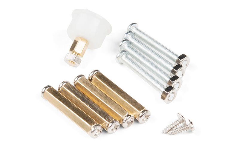 Kit Chassi robótico de alumínio