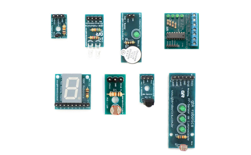 Kit de Módulos Eletrônicos Básicos