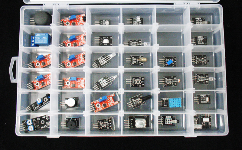 Kit de Sensores com 35 Módulos