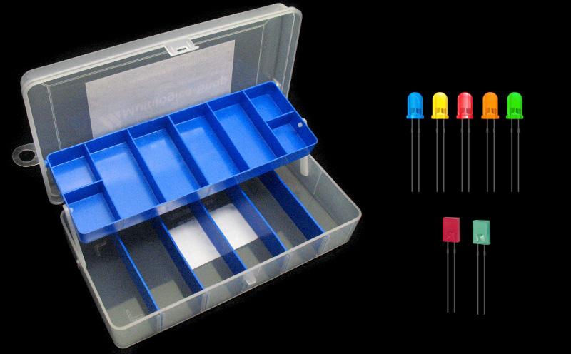 Kit de LEDs coloridos