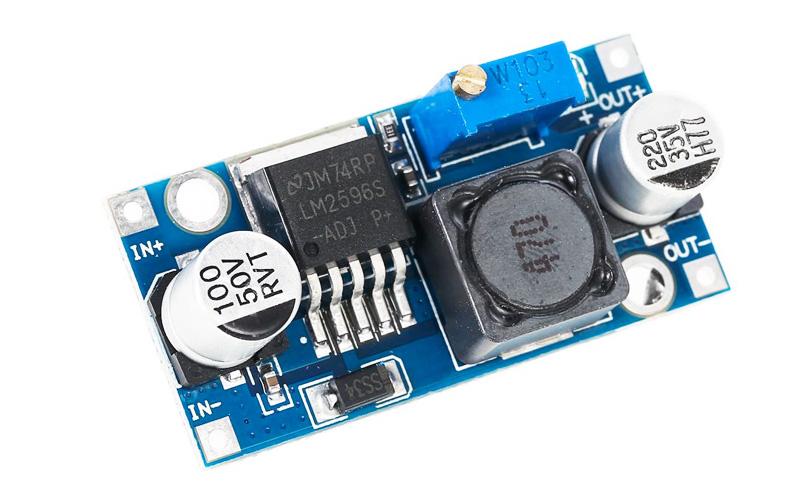 LM2596 Módulo Regulador de Voltagem Ajustável Step down DC-DC