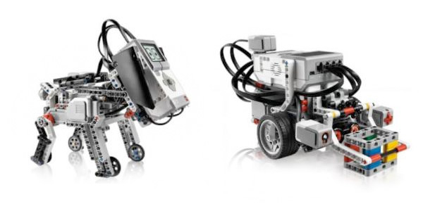 Lego Education Mindstorms EV3 - exemplos de montagens