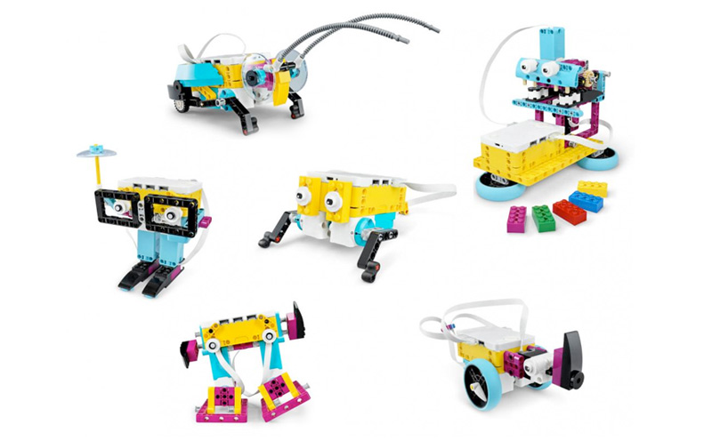Lego Education SPIKE Prime - exemplos de montagens
