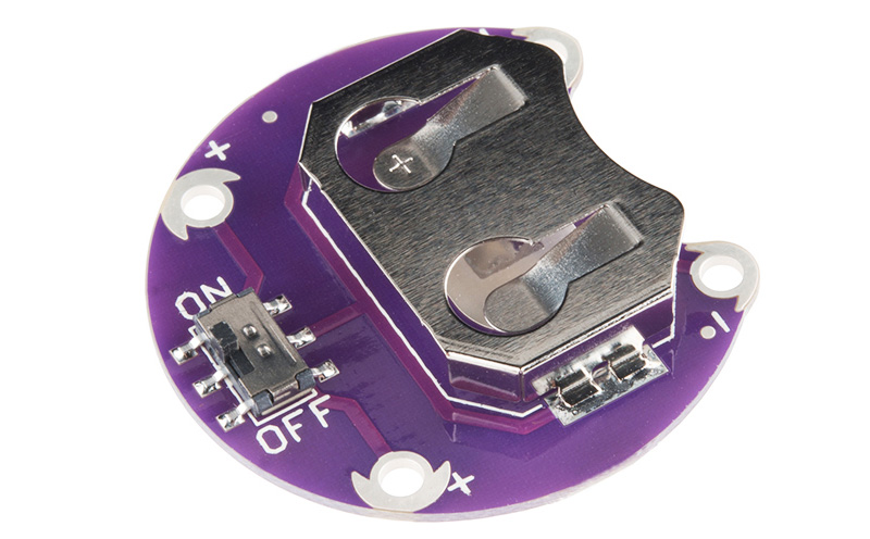 LilyPad Suporte de Bateria com chave