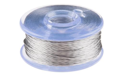 Linha condutiva de fio suave (Aço inox) – Bobina