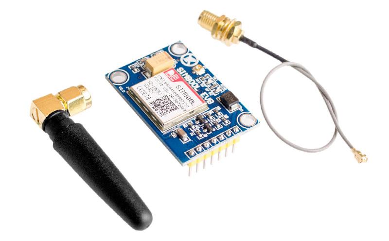 Módulo GSM GPRS SIM800L V2 5V com Antena