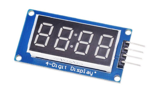 Módulo TM1637 com Display 7 Segmentos de 4 Dígitos