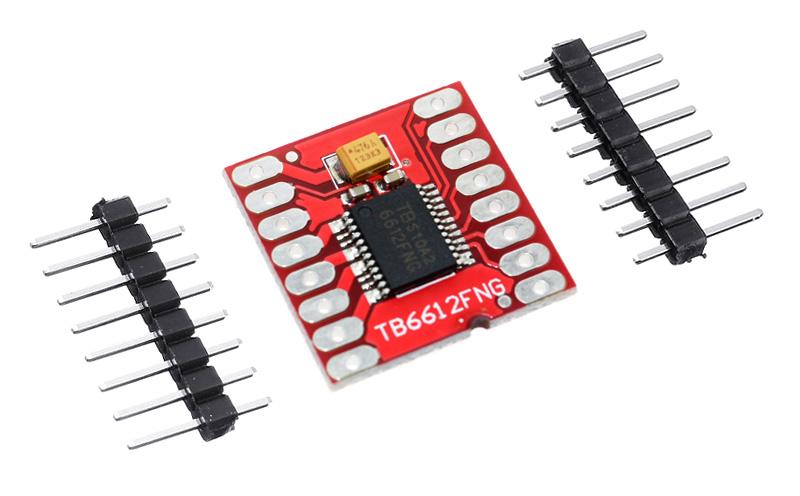 Módulo controlador duplo de motores TB6612FNG