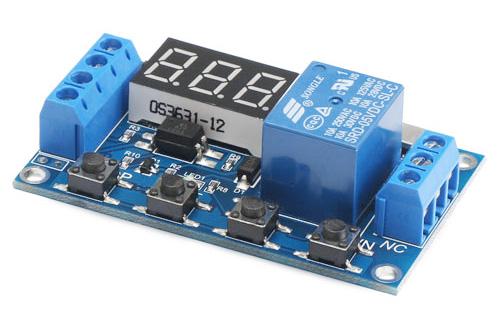 Módulo de Automação programável com relê e temporizador
