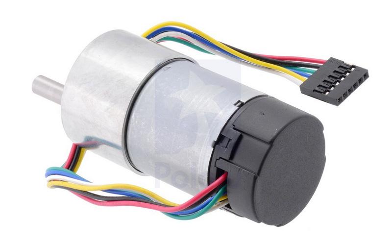 Motor metálico 19:1 37Dx52L mm com encoder