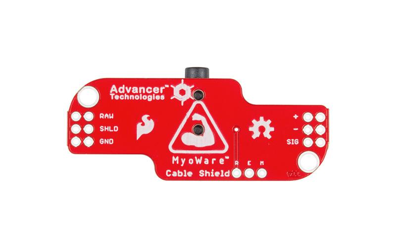 Myoware Placa para conexão de eletrodos