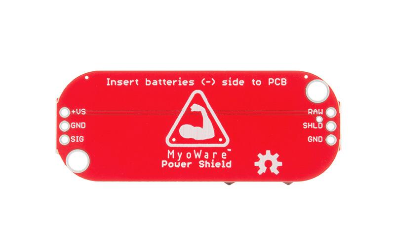 Myoware Suporte para baterias