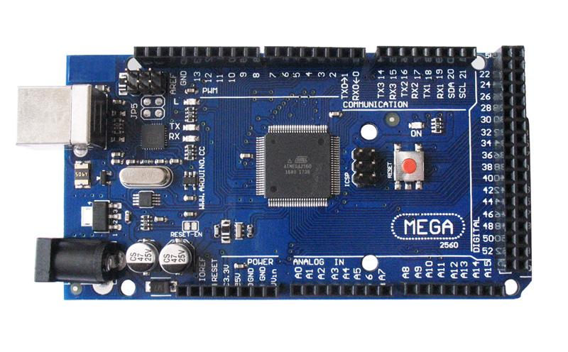 Placa Mega2560 com cabo USB (Arduino Compatível)