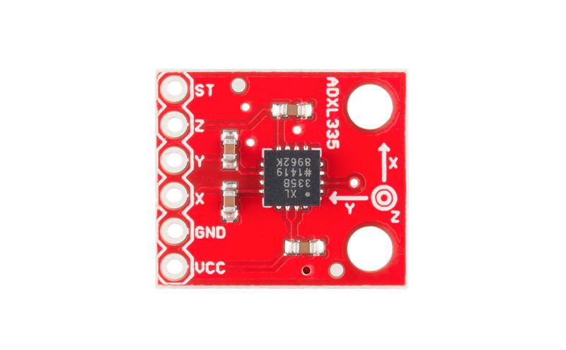 Placa com Acelerômetro Triaxial - ADXL335